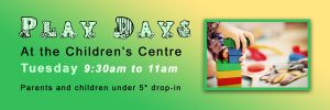 Play Days at the Children's Centre @ Windmill Hill Children's Centre | Windmill Hill | England | United Kingdom