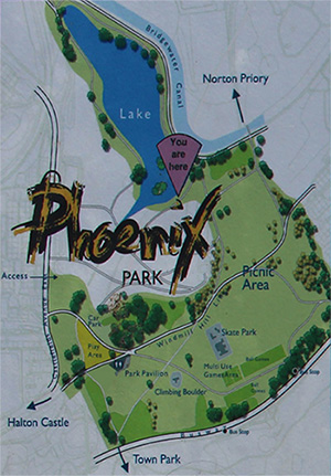 map-of-phoenix-park-in-runcorn-halton